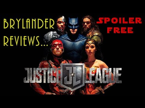 Brylander Reviews - JUSTICE LEAGUE Movie [SPOILER FREE] + Bonus Skylanders RE-maginators