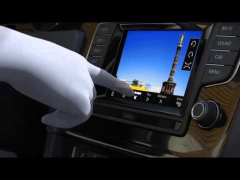 VW Golf 7 - Animation Radio-Systeme (2013)