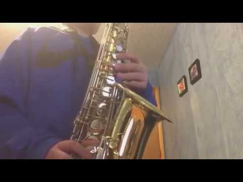 How To Play Super Mario Bros On Alto Sax (Eb)