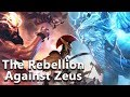 The Rebellion Against Zeus (Civil War in Olympus) - Greek Mythology - See U in History