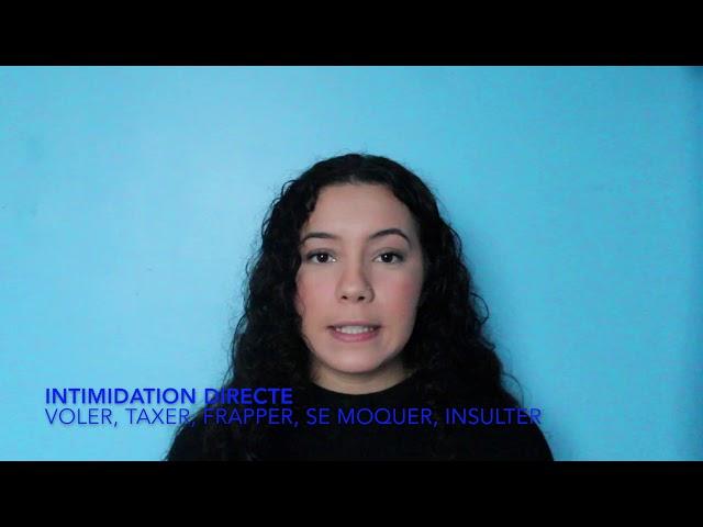 Intimidation et cyberintimidation partie 2