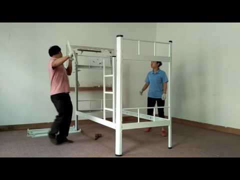 Awsome!Only need 5 Min!New Item Metal Bunk Bed Installation Video