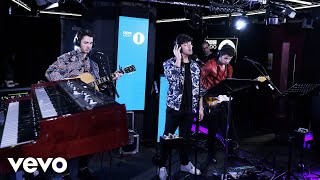 Gambar cover Jonas Brothers - Someone You Loved (Lewis Capaldi cover) in the Live Lounge
