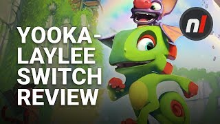 Yooka-Laylee Nintendo Switch Review - Is it Any Good?