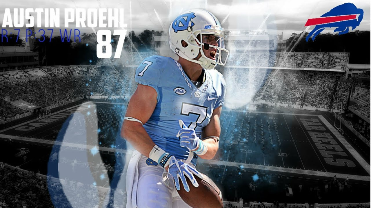 new product 57b40 8df6b II Austin Proehl 2017 Highlights II Buffalo Bills 7th Round Selection