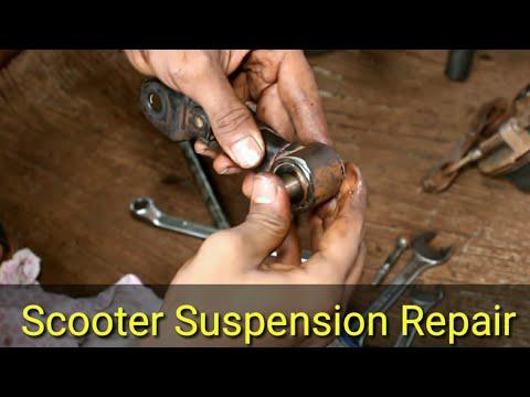 honda activa front suspension repair