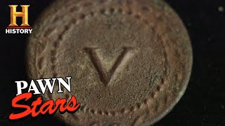 Pawn Stars: Rick Flips for an Ancient Roman Token (Season 16) | History