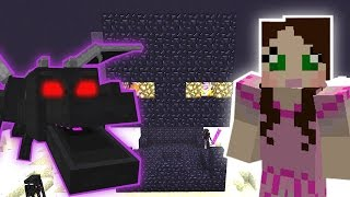 Minecraft: THE ENDER DRAGONS SECRET MISSION! - Custom Mod Challenge [S8E64]