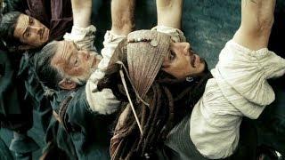"""Джек Воробей раскачивает с командой корабль  - """"Пираты Карибского моря: На краю света"""""""
