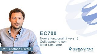 Nuova versione EC700 Vers.8 collegamento con Mold Simulator