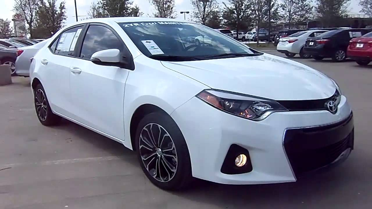 2014 toyota corolla s plus start up exterior interior