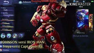 Mobile Legend versi Marvel AVENGER