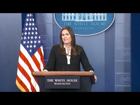 White House press briefing 8/24/17
