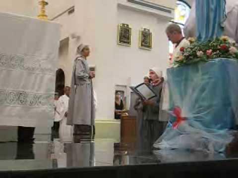 Vows Professed by Sr. Maria Caritas, SOLT