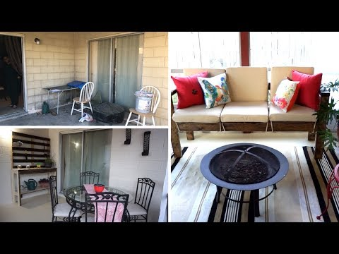 Patio Makeover On A Budget | DIY Patio Furniture