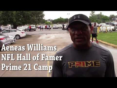 "Aeneas Williams ""I'm looking forward to seeing Plae"