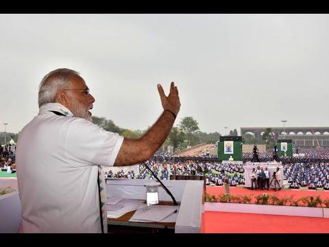 PM Modi's address at International Day of Yoga event at Capital Campus, Chandigarh