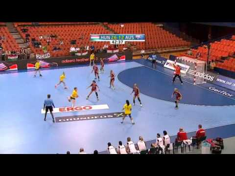 Hungary v Australia Group D Women's World Handball 2013