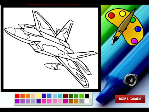 Fighter Jet Coloring Pages For Kids  Fighter Jet Coloring Pages