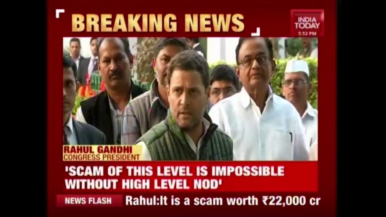 Modi Will Have To Answer The Nation On Mega PNB Scam, Rahul Gandhi's Hits Out At PM
