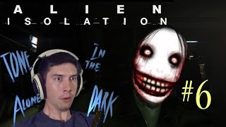Alien Isolation I Part 6 I CREEPY KILLER ANDROIDS TERRIFY ME!!!