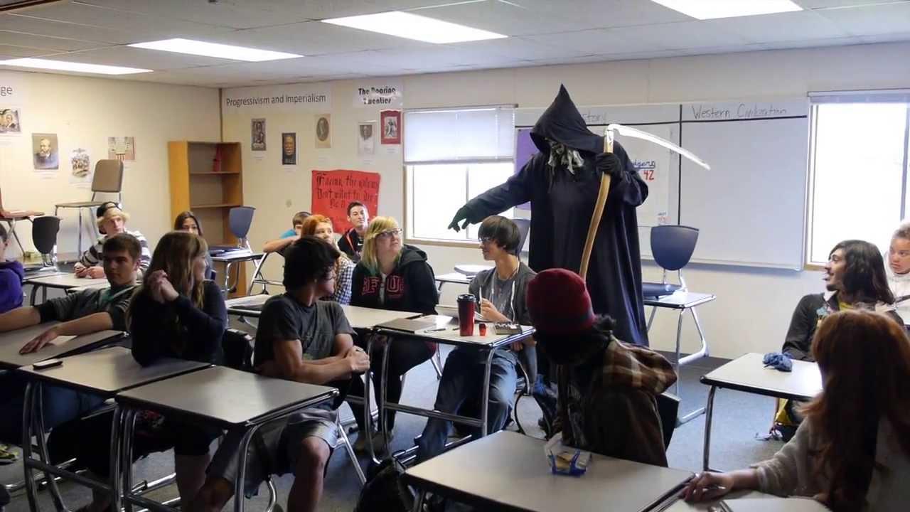 05/22/13 Grim Reaper Visits Sequim High School