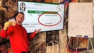 €500 euro inzetten op voetbalwedstrijd Ajax vs Juventus screenshot 3