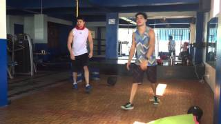 Cruz Brothers Workout! Rodjun and Rayver Cruz