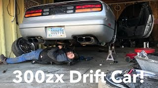 Family Friendly Video! 300zx Gets A Welded Diff