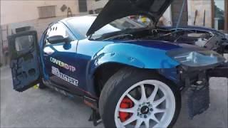 Rx8 drift Swap Rx7 episode 1 présentation de la voiture + démontage moteur