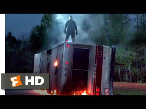 Friday The 13th VI: Jason Lives (1986) - RV Double-Kill Scene (5/10)   Movieclips