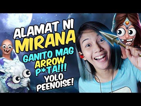 THE MOST TOXIC PEENOISE!!! - Mirana 9K Arrow | DOTA 2 | LORELYNF