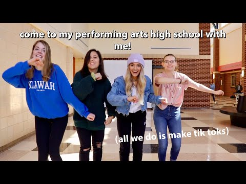 Come To My Performing Arts High School With Me!