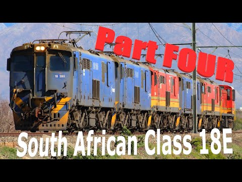 Transnet Freight Rail - South African Class 18E - Part Four