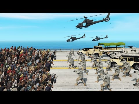 GTA 5 - FORT ZANCUDO Vs ZOMBIE Outbreak!