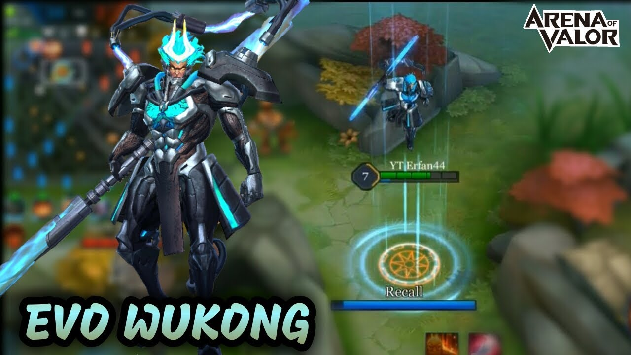 Gameplay New Skin Evo Wukong Arena Of Valor Aov