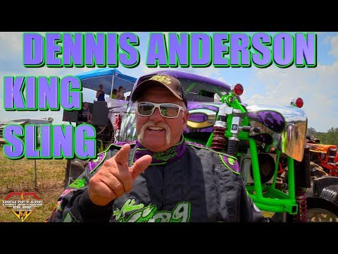 DENNIS ANDERSON IN HIS BRAND NEW 1520HP KING SLING MEGA TRUCK TURNED LOOSE AT THE WICKED DAM REUNION