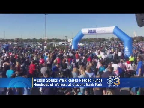 Autism Speaks Walk Held At Citizens Bank Park