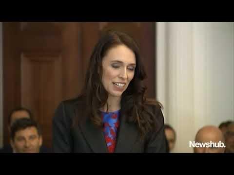 Jacinda Ardern sworn in as Prime Minister of New Zealand | Newshub