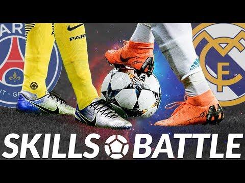 PSG vs REAL MADRID ⚽ Skills Battle ⚽ 2018