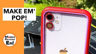 WHERE'D THEY GO? Rhinoshield 9H Tempered Glass Camera Lens Protector for the iPhone 11's - Review