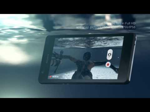 SONY XPERIA ZR SMARTPHONE / SMARTPHONE - Product video Vandenborre.be