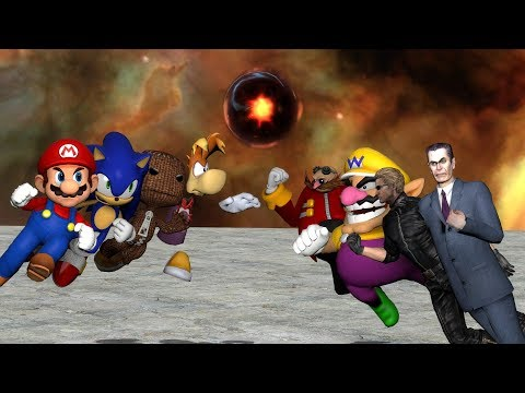 Super Smash Bros. Gmod Remastered