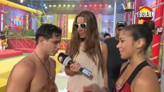 "Calle 7 Panama ""Annette Entrevista Rojos"" 31 Dic 14"