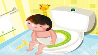 Potty Potty Cute Baby App, Learn Toilet Training stories and books by Bulbul incl.
