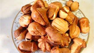 Орешки со сгущенкой видео рецепт