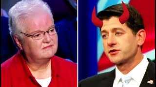 Nun Slowly Realizes That Paul Ryan Is Actually Satan After Asking Question At Town Hall