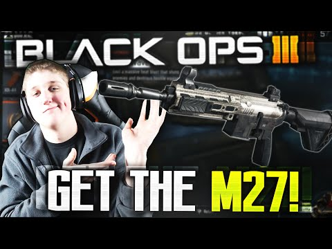 How To Get The M27 In Black Ops 3 Secret Assault Rifle Glitch