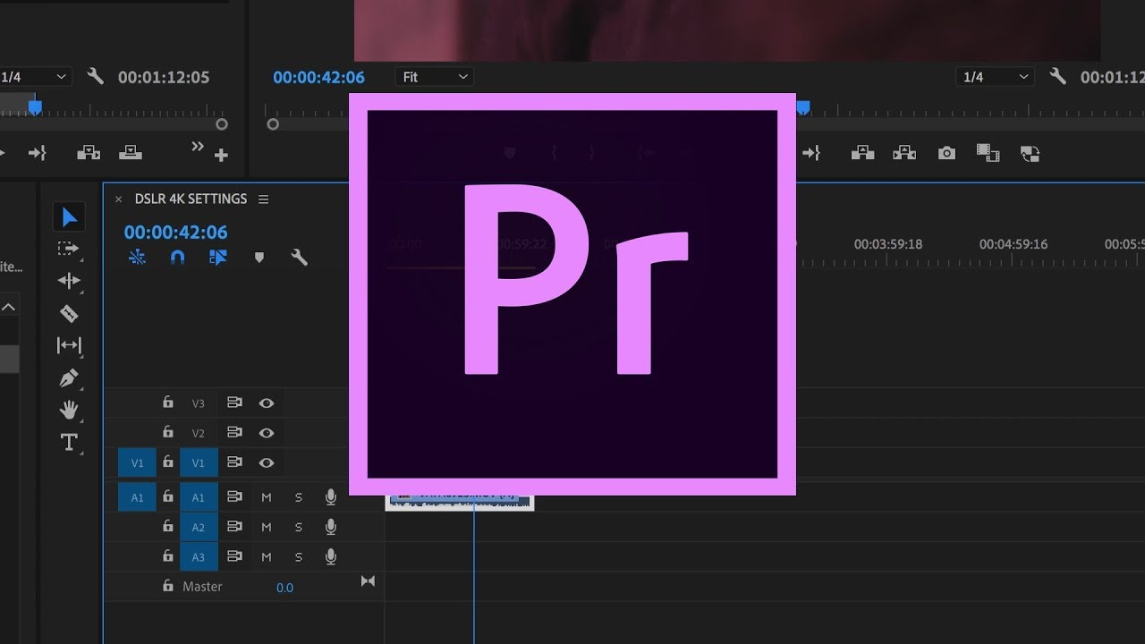 How to Setup a New Project – Adobe Premiere Pro CC 2019