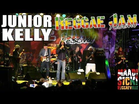 Junior Kelly @Reggae Jam 2015